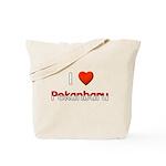 I Love Pekanbaru Tote Bag