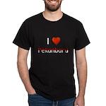 I Love Pekanbaru Dark T-Shirt