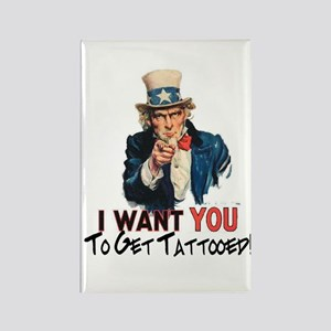 I want you... Rectangle Magnet