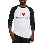 I Love Palembang Baseball Jersey