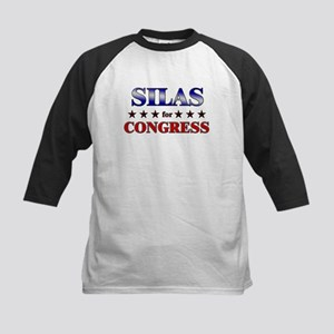 SILAS for congress Kids Baseball Jersey