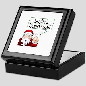 Skylar's Been Nice Keepsake Box