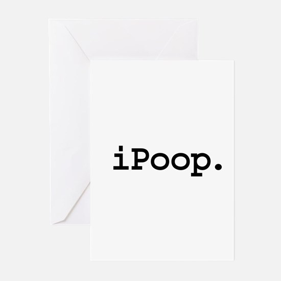 iPoop. Greeting Cards (Pk of 10)