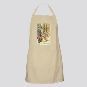 Santa Claus Christmas Party Hostess Gift BBQ Apron