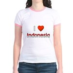 I Love Indonesia Jr. Ringer T-Shirt