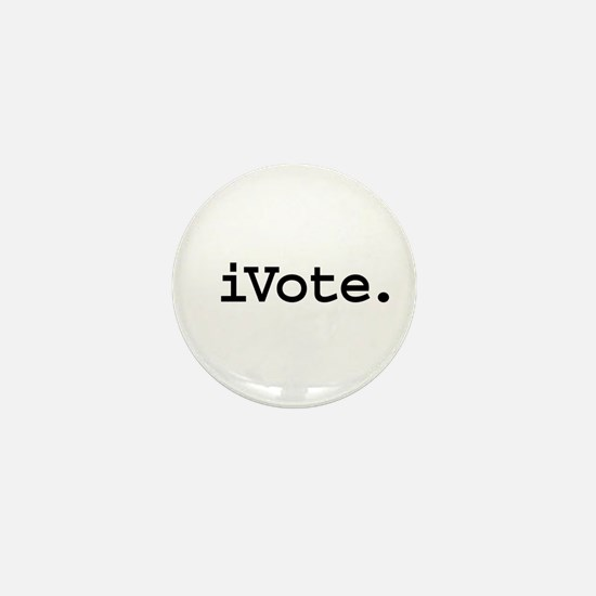 iVote. Mini Button