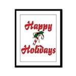Happy Holidays  Framed Panel Print