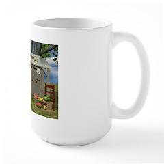 The Fruit Stand Large Mug