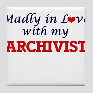 Madly in love with my Archivist Tile Coaster
