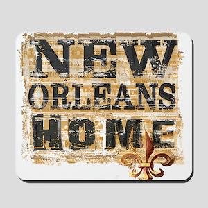 New Orleans Home Fleur De Lis Mousepad