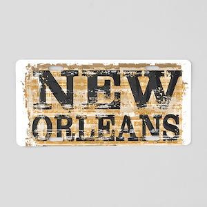 New Orleans Home Fleur De L Aluminum License Plate
