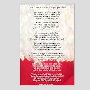 Santa Is a Pervert! Postcards (Package of 8)