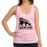 Honey badger Womens Racerback Tanktop