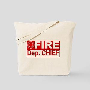 Fire Deputy Chief Tote Bag