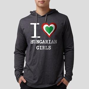 i heart hungarIAN GIRLS2 Long Sleeve T-Shirt