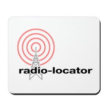 Radio-Locator Mousepad