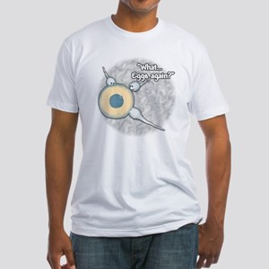 Eggs Again?... Fitted T-Shirt