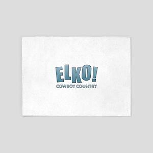 Elko - Cowboy Country 5'x7'Area Rug