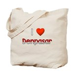 I Love Denpasar Tote Bag