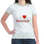 I Love Denpasar Jr. Ringer T-Shirt