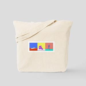 TRIATHLON SILHOUTTE BOLD Tote Bag