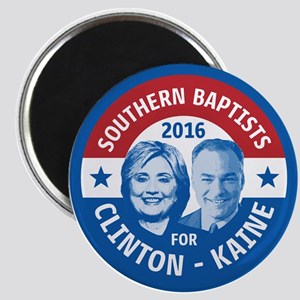 Southern Baptists for Clinton Kaine Magnets