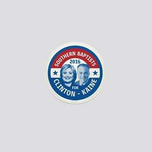 Southern Baptists for Clinton Kaine Mini Button