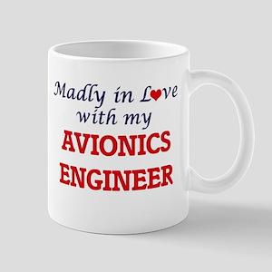 Madly in love with my Avionics Engineer Mugs
