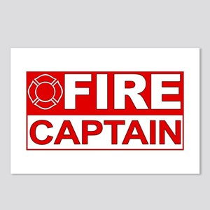 Fire Captain Postcards (Package of 8)