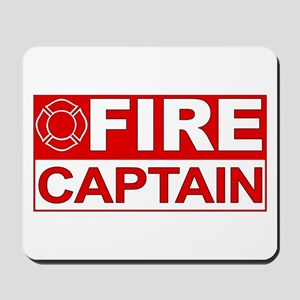 Fire Captain Mousepad