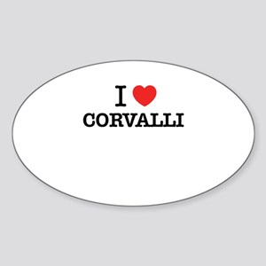 I Love CORVALLI Sticker