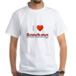 I Love Bandung White T-Shirt