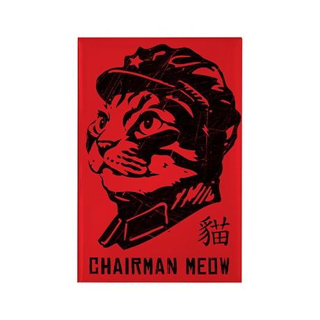 Chairman Meow - Cat Propaganda Magnet