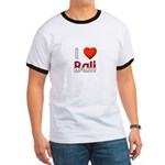 I Love Bali Ringer T