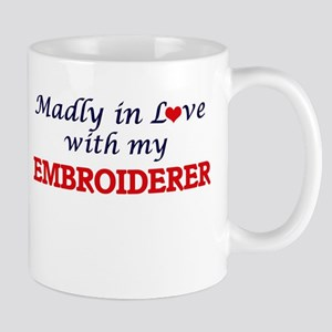 Madly in love with my Embroiderer Mugs