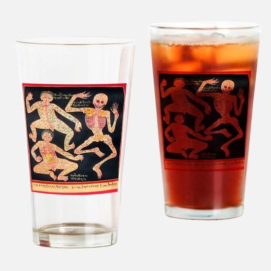 Funny Buddhism Drinking Glass
