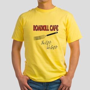 Roadkill Cafe Yellow T-Shirt