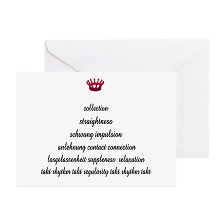 Training Pyramid Greeting Cards (Pk of 10)