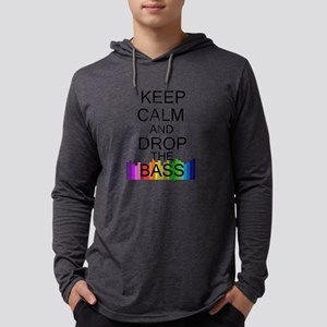 Keep Calm and Drop The Bass Long Sleeve T-Shirt