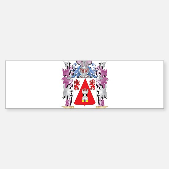Hendrichs Coat of Arms (Family Cres Bumper Bumper Bumper Sticker