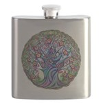 Tree of Life Spring Flask
