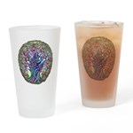 Tree of Life Spring Drinking Glass