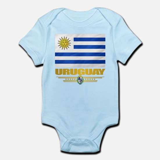 Uruguay Flag Body Suit