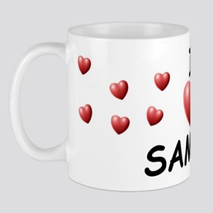 I Love Samira - Mug