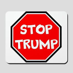 stop trump, anti trump Mousepad