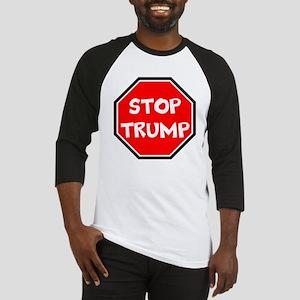 stop trump, anti trump Baseball Jersey
