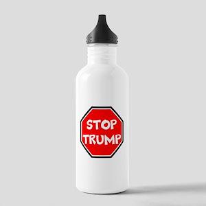 stop trump, anti trump Water Bottle