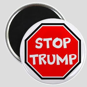 stop trump, anti trump Magnets