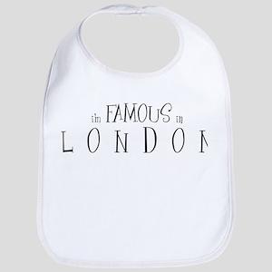 Famous in London Bib