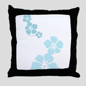 3 flowers london Throw Pillow